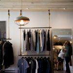Regal sklepowy odzieżowy NUT 08
